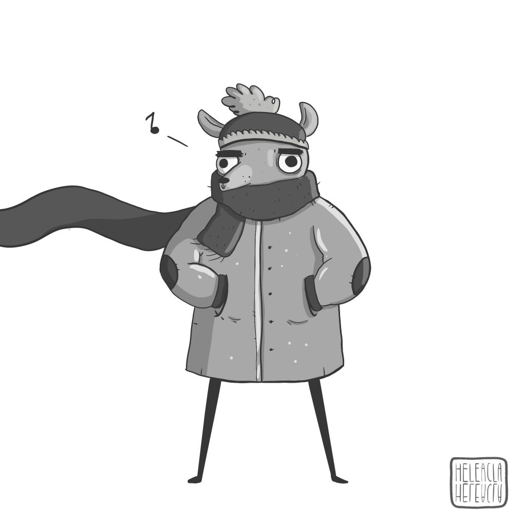 ilustración dibujo animado