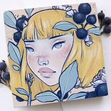 alyssamees ilustración chica